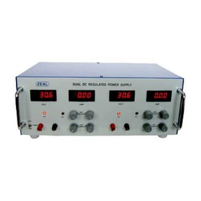 Dual Channel Regulated Power Supply
