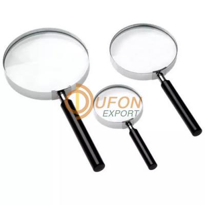 Reading Glass Magnifier Metal Frame 6/20 cm