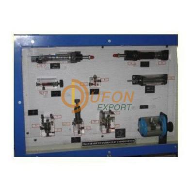Transparent Hydraulic Components