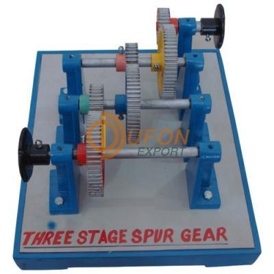Three Stage Spur Gear
